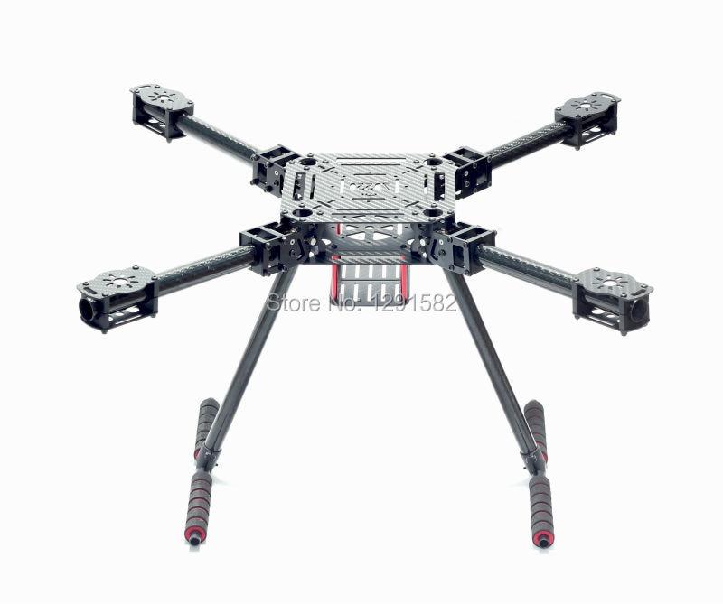 ZD550 ZD 550 550mm / ZD680 680mm Carbon Fiber Quadcopter Frame Kit with carbon fiber landing skidZD550 ZD 550 550mm / ZD680 680mm Carbon Fiber Quadcopter Frame Kit with carbon fiber landing skid