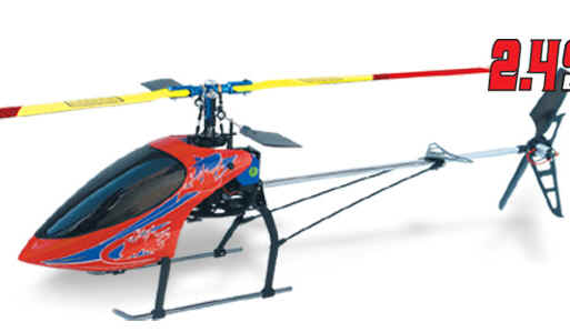 Walkera 1#B Flybared RC Helicopter WK Series 2.4Ghz Metal Heli BNF b well wk 132