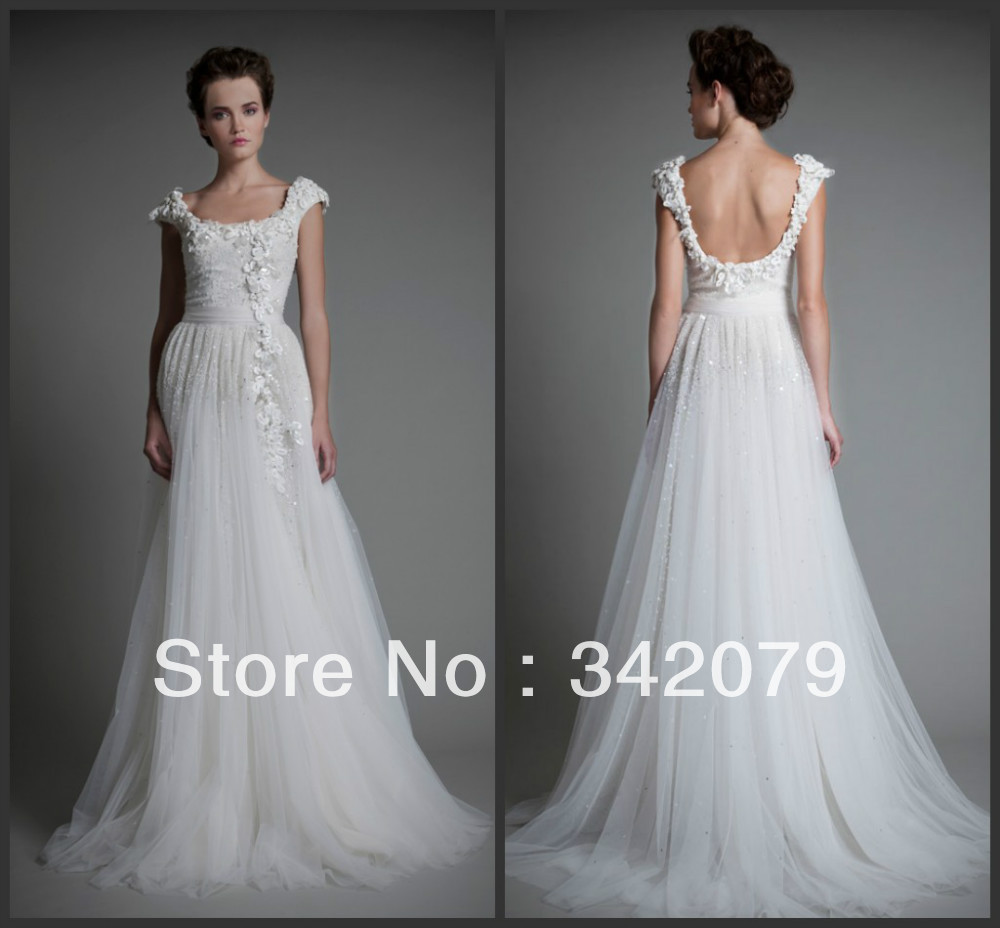 Haute Couture Wedding Gown: Ph09507 Haute Couture Tony Ward Romantic Wedding Gown In