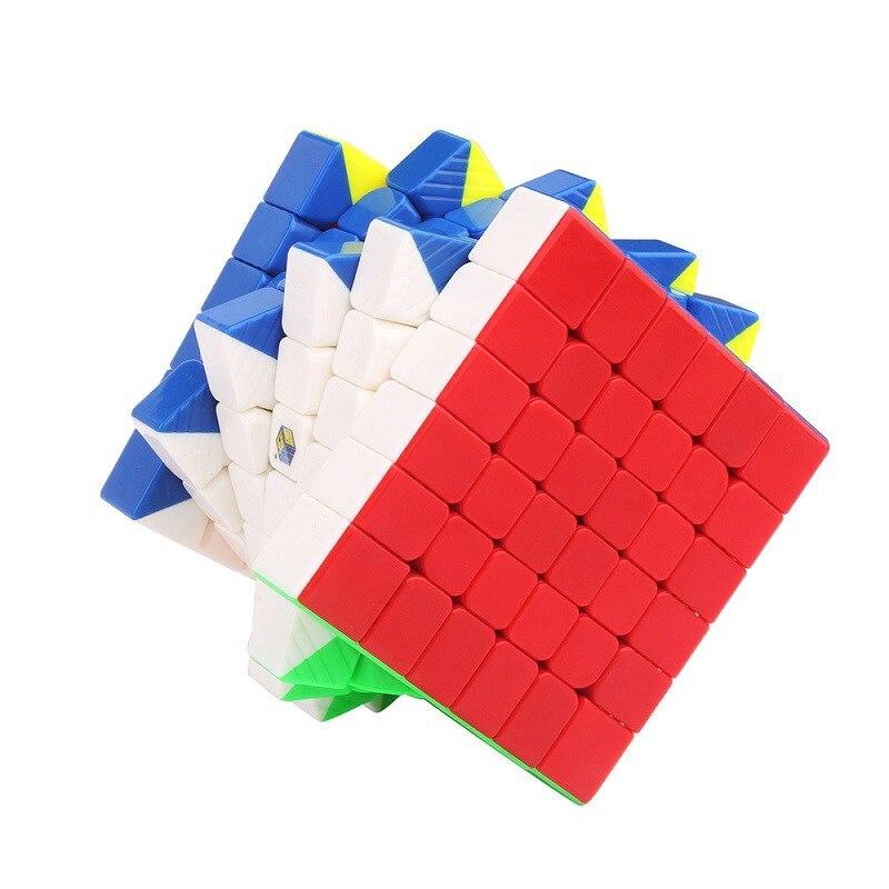 YUXIN ZHISHENG 6*6*6 Little Magic Professional Magic Cube 6x6 Puzzle Cube Fidget Magico Cubo Educational ToysYUXIN ZHISHENG 6*6*6 Little Magic Professional Magic Cube 6x6 Puzzle Cube Fidget Magico Cubo Educational Toys