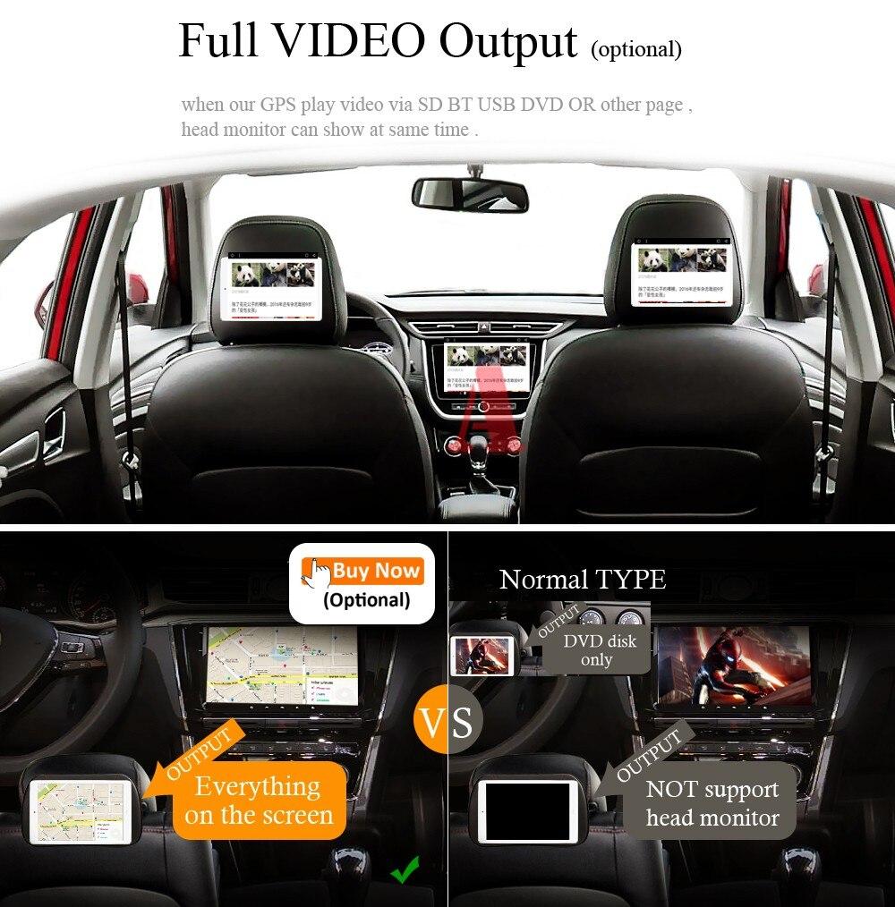Ips2din 8 Core Andorid 80 Car Dvd Auto Radio For Mercedes Benz Automobile Interior Lights Fader Full