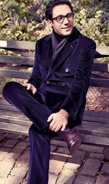 Purple Double Breasted Suit Promotion-Shop for Promotional Purple ...