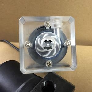 Image 5 - 新しいコンピュータ水クーラー冷却透明/黒カバーホース/硬水ポンプ