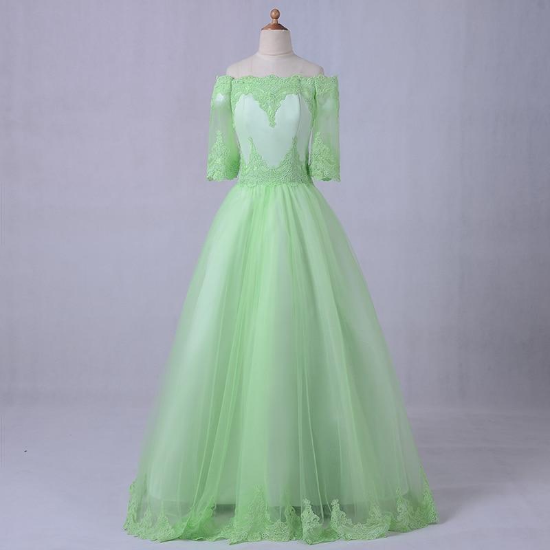 New Desinger Flower Girl Dresses For Weddings Vintage First Communion Dresses for Girls Pageant Girls Party Dresses Half Sleeve