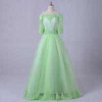 Nowy Desinger Kwiat Dziewczyna Sukienki Na Wesela Rocznika Pierwsza Komunia Suknie dla Dziewczyn Pageant Dziewczyny Sukienek Połowa Rękawem
