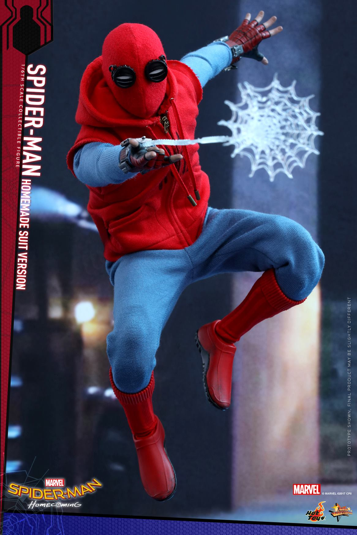 Single Sale Super Heroes Spiderman Homecoming Homemade Suit Spider