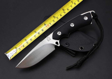 Fnie BOLTE BI Tactical Fixed Knives,D2 Blade G10 Handle Camping Survival Knife,Hunting Knife.