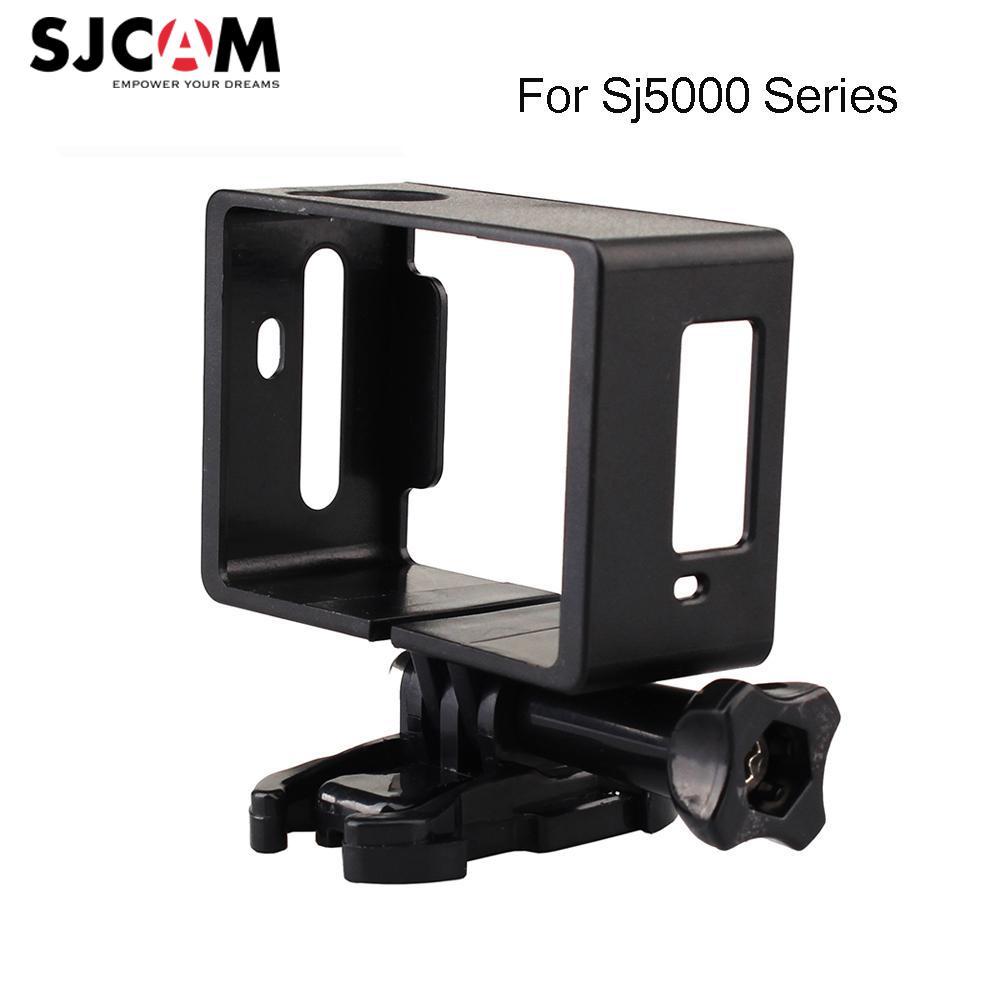 Sjcam Standard Side Protettiva Border Frame + Quick Mount Base + Vite Per Sjcam Sj5000, Sj5000 wifi, Sj5000x elite, Sj5000 plus