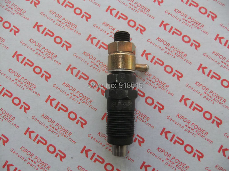 KM2V80 Fuel injector assembly fit for kipor KDE12EA diesel generator genuine parts km493 a 1 flameout solenoid valve fit kipor kde30 kde20 kde35 kd388 kd488 km493 diesel generator parts