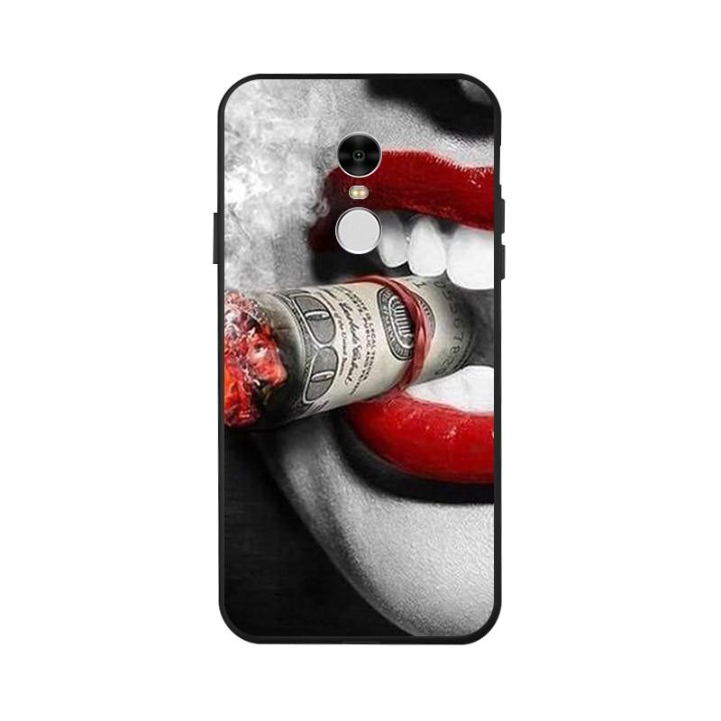Ojeleye Fashion Black Silicon Case For Xiaomi Redmi Note 4 Prime Cases Anti knock Phone Cover For Xiaomi Redmi Note 4 Pro Covers in Fitted Cases from Cellphones Telecommunications