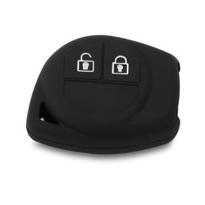Image 3 - Funda de silicona para llave de coche, 2 botones, para Suzuki Amagatarai Grand Vitara Swift Ignis SX4 Liana Aerio Vitara Jimny Vitara XL7, 1 unidad