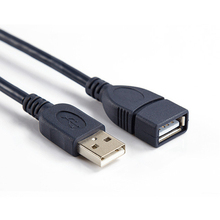 USB Extension Cable Super Speed USB 2.0 Cable Male to Female 1m Data Sync USB 2.0 Extender Cord Extension Cable