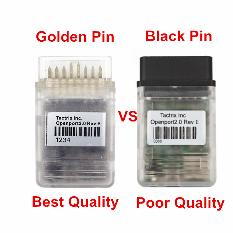 US $17 34 |2018 Best Tactrix Openport 2 0 For Toyota ECU Diagnostic Tool  Golden Pin Best Quality OBD2 Car Scanner For TIS ECUFLASH Reader-in Code