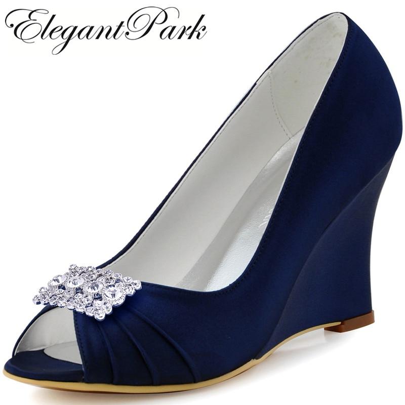 Popular Navy Blue Wedge Heels-Buy Cheap Navy Blue Wedge