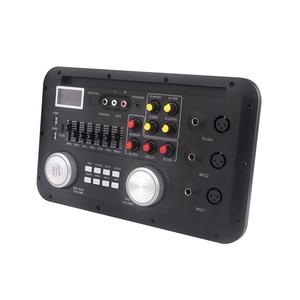 Image 2 - Monitory Audio AAC LCD moduł MP3 FLAC USB TF mikrofon basowy XLR liryczne mieszanie spółgłoska Bluetooth AUX TRS telefon Decording Borad