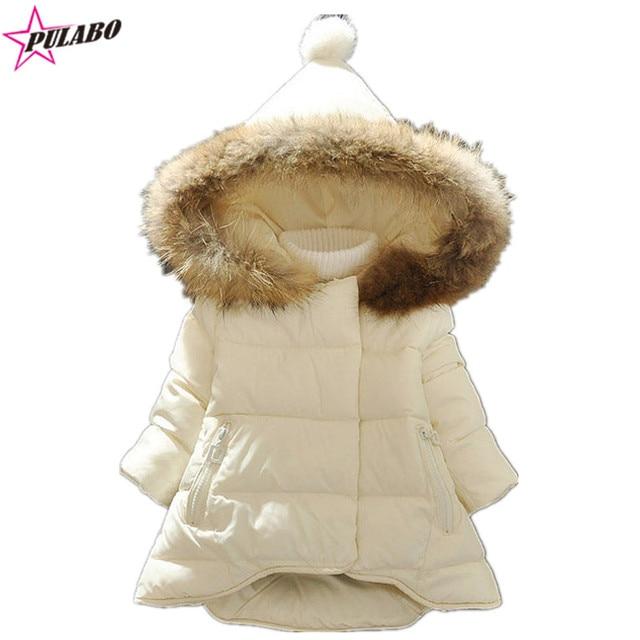 8cace9474516 new brand baby girl winter jacket coat girls warm white down coat ...