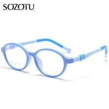 SOZOTU Student Glasses Frame Children Myopia Prescription Eyeglasses Optical Kids Spectacle For Baby Boys&Girls YQ123