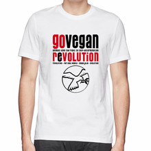 GO VEGAN (R)EVOLUTION t-shirt
