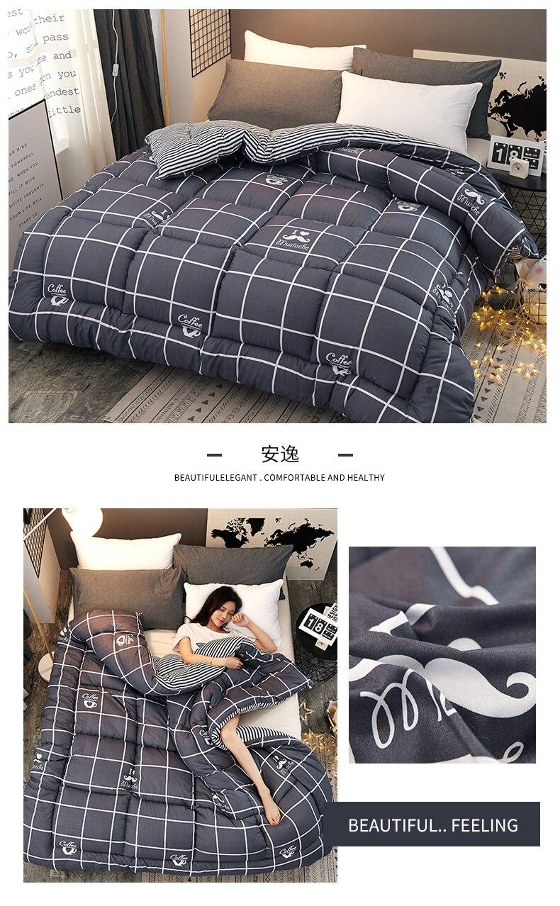 Details about  /Cartoon High Quality Quilts Bedroom Duvet Patchwork Bedding Comforter Blankets
