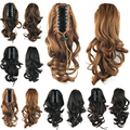 Wavy Ponytails with Clip Synthetic Hair Ponytail Little Pony Tail Hair Extensions Hair Piece Hairpiece