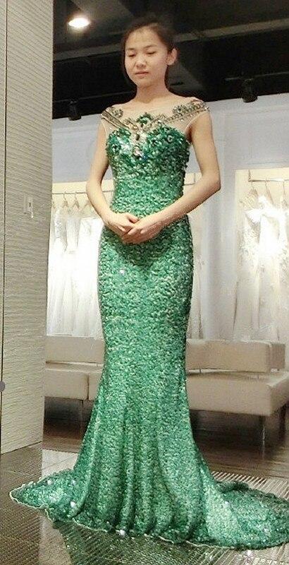 fe4ce2c43c Hot Sale 2015 Evening Dresses Online Shopping See Through Back Aqua Green  Evening Dresses From Dubai-in Evening Dresses from Weddings   Events on ...