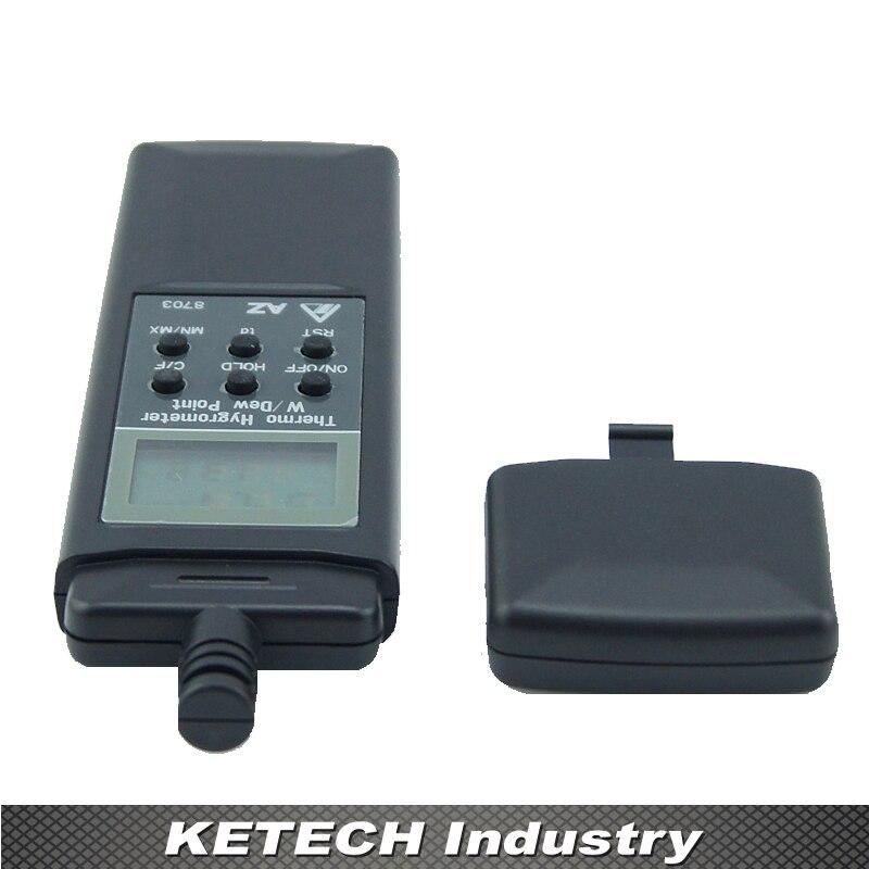AZ-8703 Digital Thermometer Hygrometer Humidity Gauge Dew Point Tester стоимость