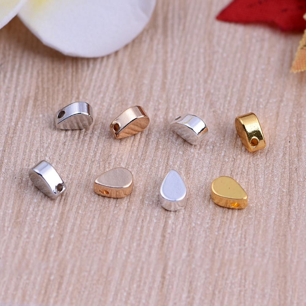 fe01c6d8b 100 قطعة/الوحدة سبائك معدنية سحر للمجوهرات diy صنع الفضة الذهب قطرة الخرز  فاصل الخرزة ل قلادة