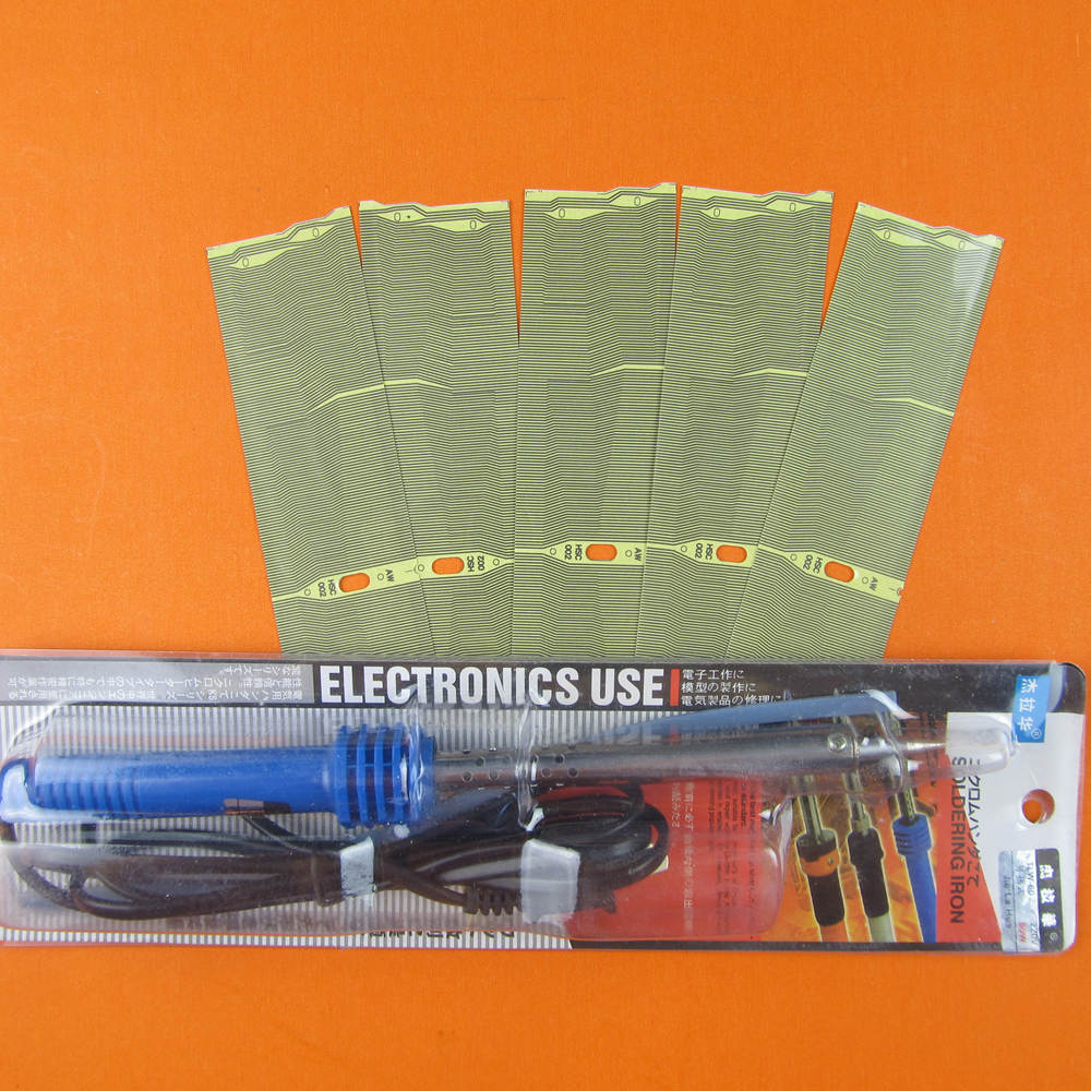 One soldring iron and 5pcs New Arrival MID Radio Pixel Repair E38 E39 E53 X5  Ribbon Cable For BMW Free Shipping-in Code Readers & Scan Tools from ...