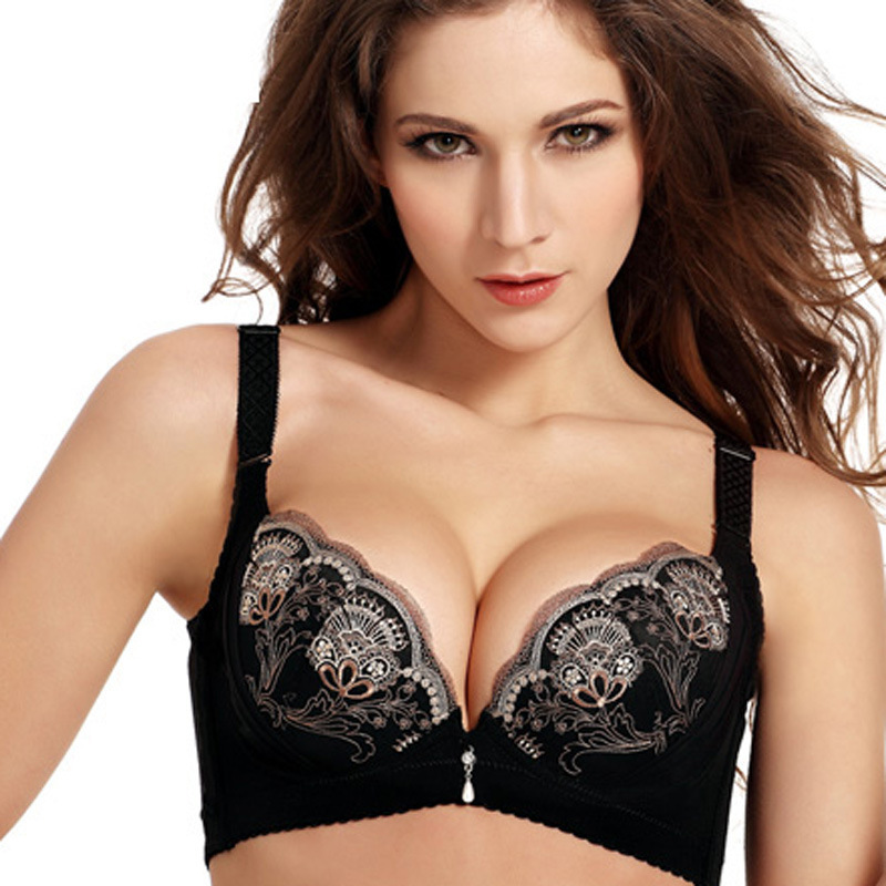 Online Shop Brand High Quality Sexy Push Up woman Bra oil massage ...