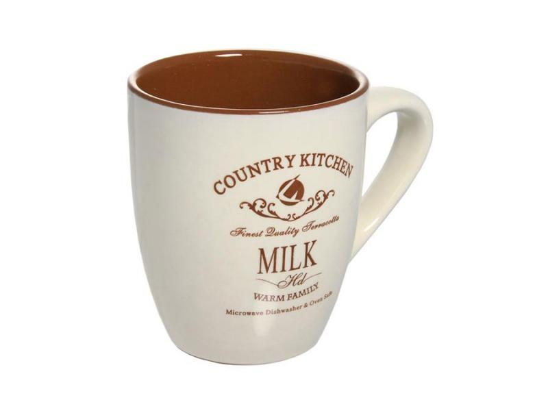 Mug TERRACOTTA, Kitchen country style, 300 ml living in style country