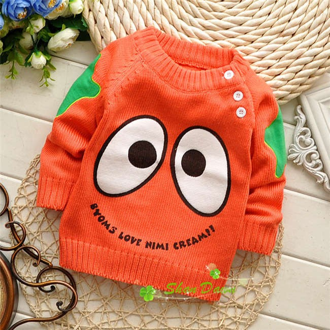 Spring-Autumn-Korean-baby-boys-and-girls-cartoon-Cute-eye-shoulder-buckle-pullover-sweatersV215B-3
