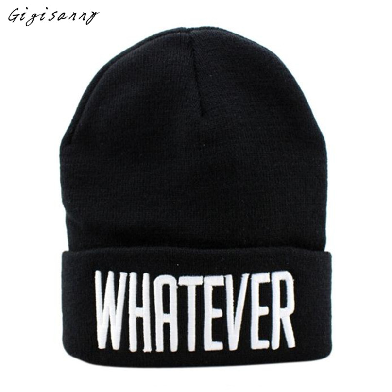 Gigisanny 2017 New WHATEVER Cap Men Hip-Hop Hat Knitted Wool Skullies Beanie Hat Warm Winter Hat for Women Hot Selling,Nov 2 автокресло britax roemer детское автокресло britax roemer kidfix ii xp sict группа 2 3 от 15 до 36 кг black series flame red