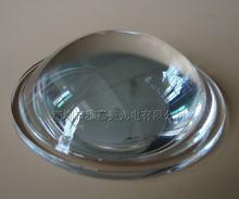 Lente convexa do plano do diâmetro 67mm da lente de vidro ótico, lente convexa de vidro