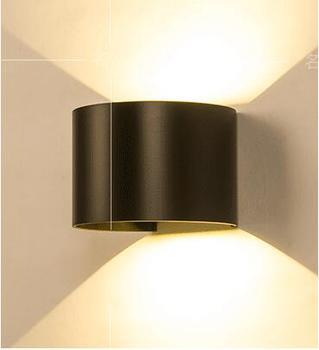 Новый современный минималистичный светодио дный светодиодный светильник регулируемый затемнения Настенные светильники водостойкие прох...