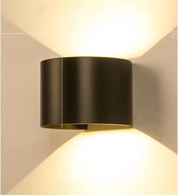 ФОТО new Modern minimalist NEW LED lamp adjustable dimming WALL lights waterproof aisle lamp bedside Wall Lamps