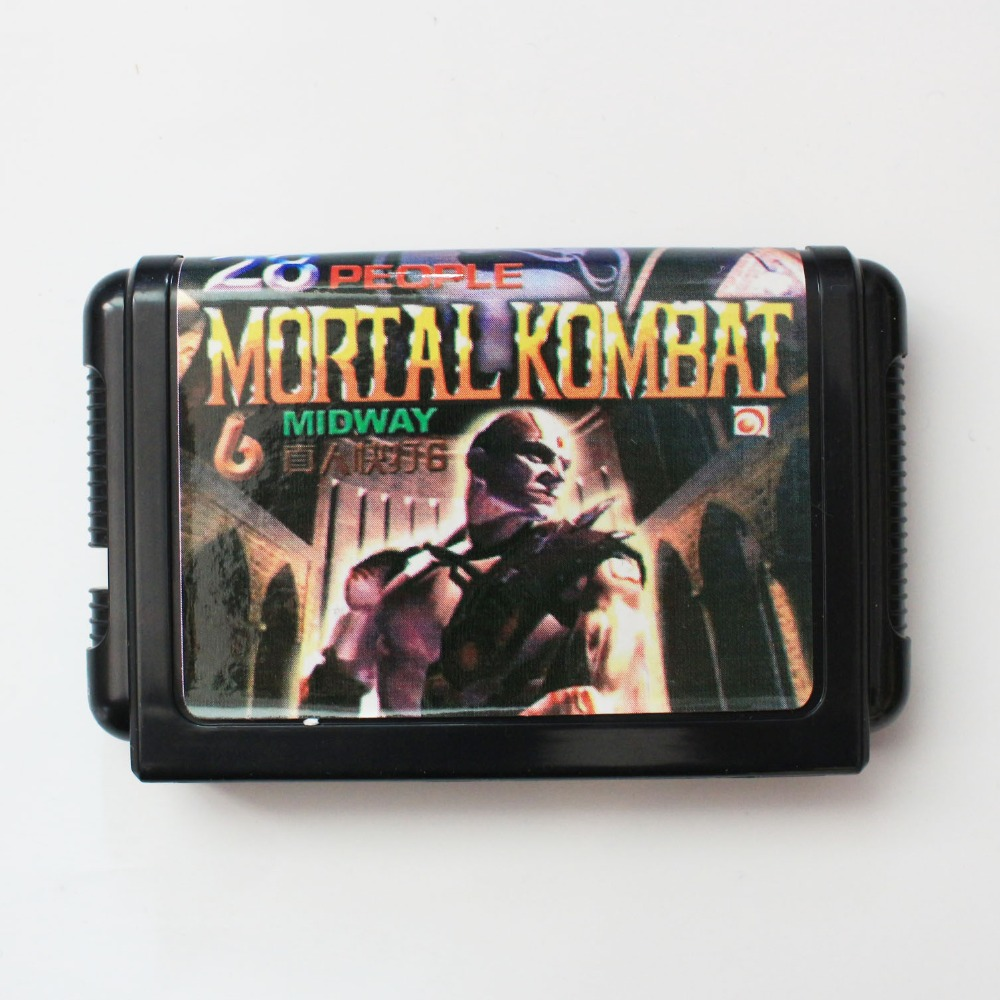 Mortal Kombat 6 16 bit SEGA MD Game Card For Sega Mega Drive For Genesis