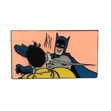 Значок Бэтмена DC Comics, брошь супергероя Adam West, боевой значок