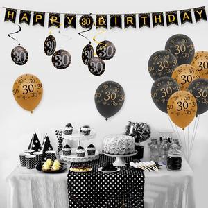 Фон для фотосъемки QIFU 30, 40, 50, для вечеринки на день рождения, для взрослых, 30, 40, 50 лет