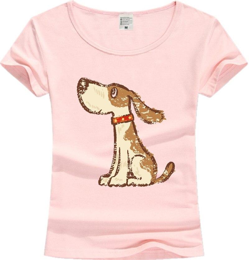 Shirt With Big Dog Print On It