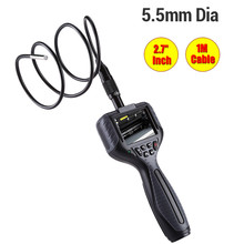 """99D 2.7"""" TFT Color LCD Monitor 5.5mm Lens Endoscope 1M Snake Tube Pipe Borescope Inspection Surveillance Inspector Video Camera"""
