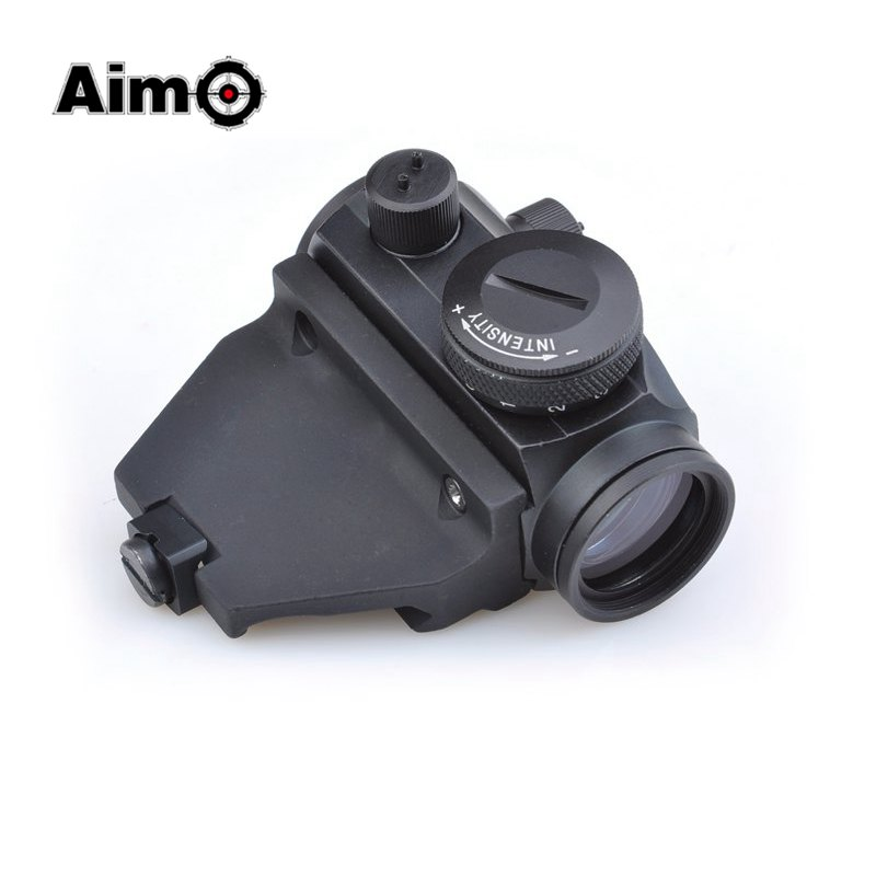 Aim-O Red Dot RifleScope Sight with Vertical Offset High Scope Mount For Air Gun AO5030 gun hunting aim manual regulation riflescope target scope sihgt sniperscope 4x 32 telescope aim 4x23 sight riflescope