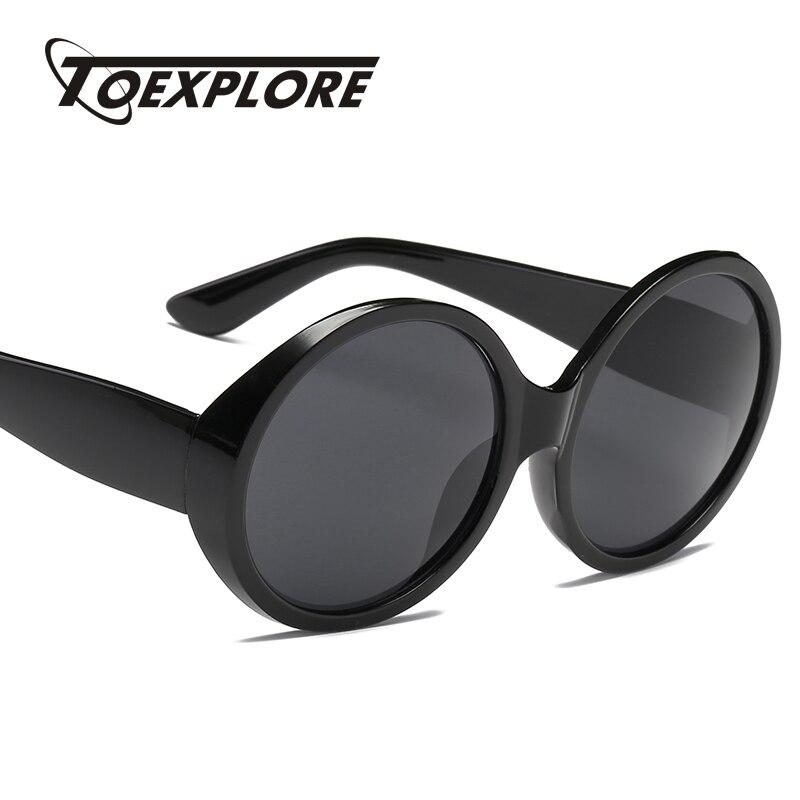 ccc292ea28e TOEXPLORE Vintage Round Frame Sunglasses Men Women Brand Designer Eyewear  Retro Mirror Sun Glasses Fashion High