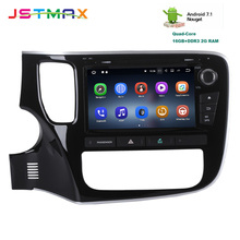 JSTMAX 8″ Android 7.1 Car DVD GPS Player Multimedia Navi for Mitsubishi Outlander 2014 2015with 2G+16G Quad Core car Radio HDMI