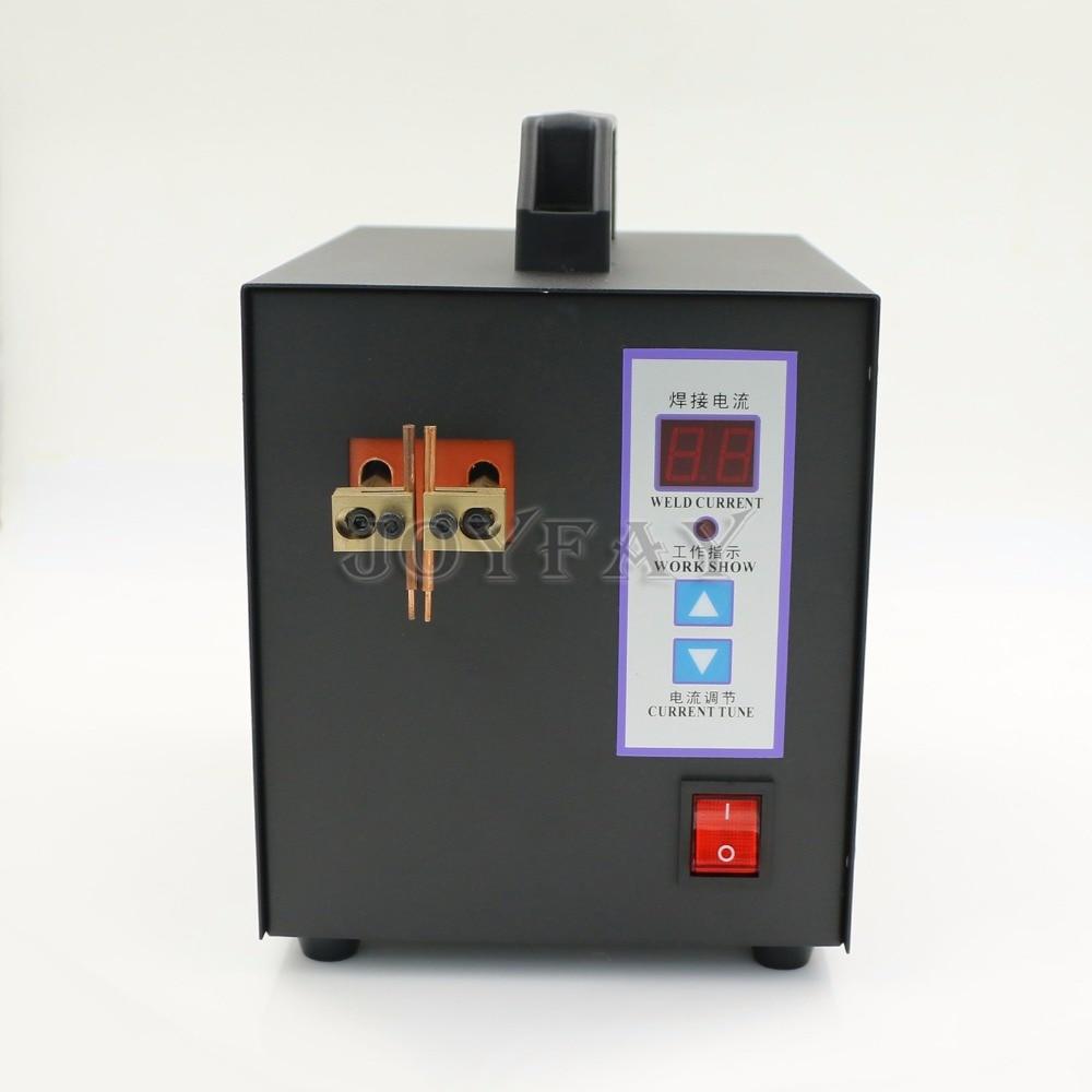 110V Handheld Battery Spot Welder for 18650 16430 14500 Battery Pack Spot Welding Machine