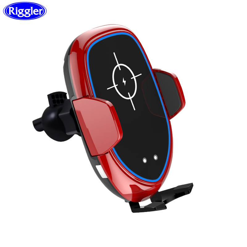 Smart Cooling Fan Car Wireless Charger for Huawei P30Pro Samsung S9 S8 Note9 Note8 Infrared Sensor Car Mount HolderSmart Cooling Fan Car Wireless Charger for Huawei P30Pro Samsung S9 S8 Note9 Note8 Infrared Sensor Car Mount Holder