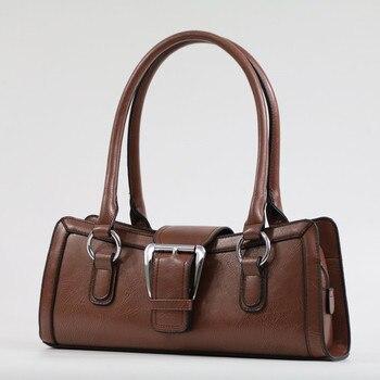 338946672 Simples Mulheres Bolsa Feminina Bolsas de Couro Bolsa de Ombro Designer De  Luxo Tote Retro Saco Das Senhoras Marca de Moda Big Bag