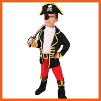 2017 FACTORY DIRECT SELLING JACK SPARROW KIDS BOYS PIRATE COSTUMES HALLOWEEN COSPLAY COSTUMES FOR KIDS