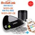 Broadlink rm2 rm pro min3universal controlador inteligente, automação residencial inteligente, wifi + ir + rf interruptor de controle remoto para ios android