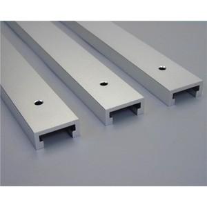"Image 2 - 1 יחידות T מסלולים אלומיניום חריץ מצנפת מסלול לנענע מתקן נתב שולחן Bandsaws נגרות כלי אורך 300/ 400/600/800 מ""מ"