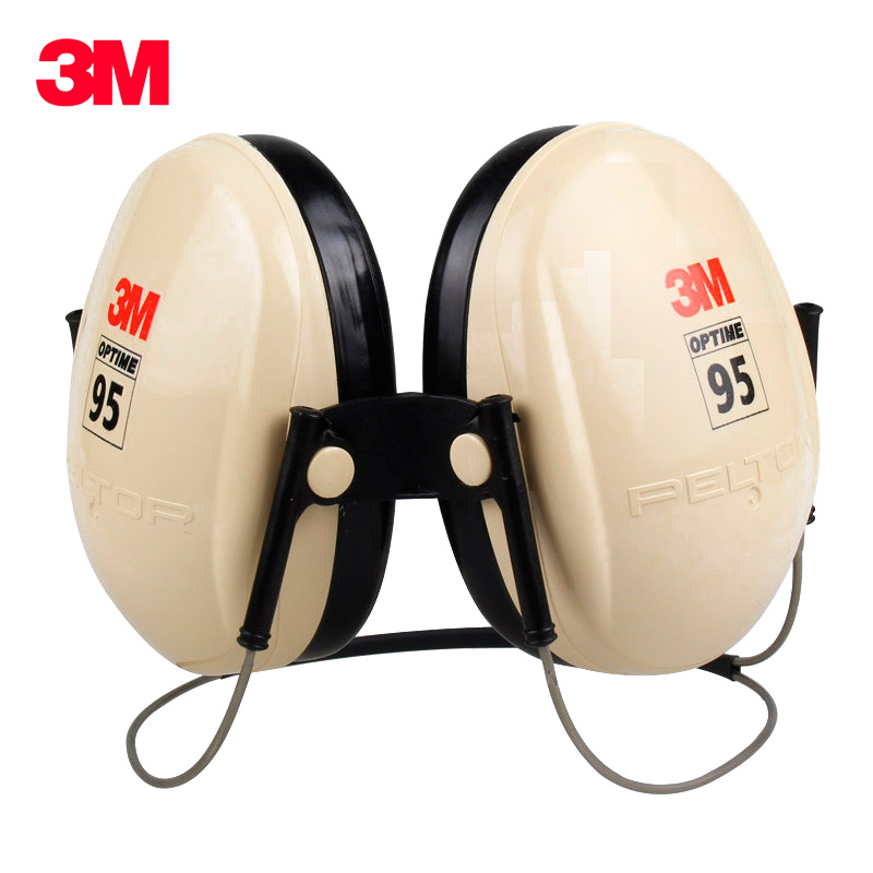 3M H6B Safety Anti noise Earmuffs Ear Protector Outdoor Hunting Shooting Sleep Soundproof factory learn Mute
